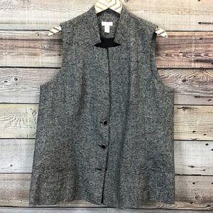 Chicos 3 Vest Gray Shimmer XL 0655